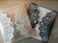 Paper laser cutting samples
