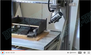 Testing for 5 axis CNC Router