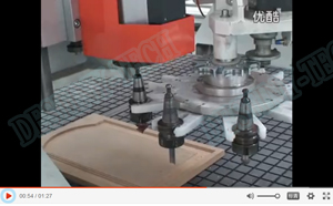 DESTINY-TECH  Knife changed autometic CNC Router
