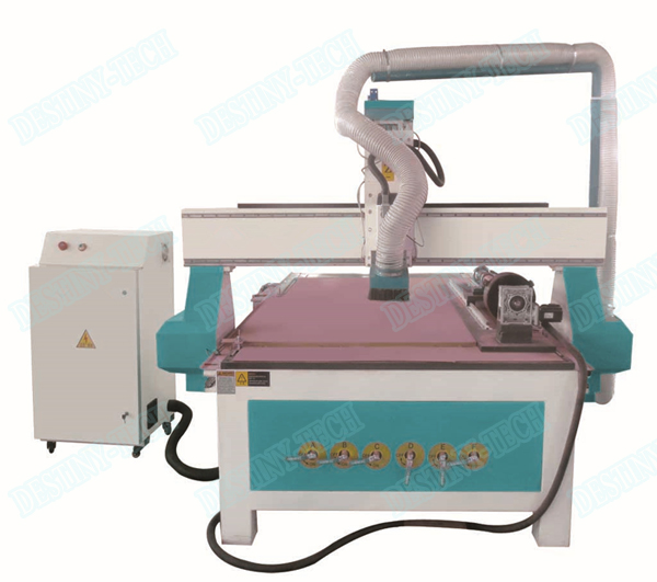 DT-1325/1530  DSP control Water cooled CNC Router with T slot worktable