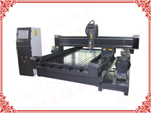 DT-1325T/1530T Heavy stone CNC Router with rotary device