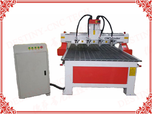 DT-1325/1530 One trailer 4 heads CNC Router