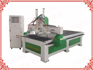DT-1325/1530 One trailer 3 heads CNC Router