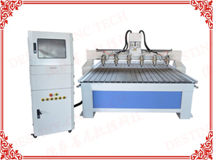 DT-1325/1530 One trailer 6 heads CNC Router