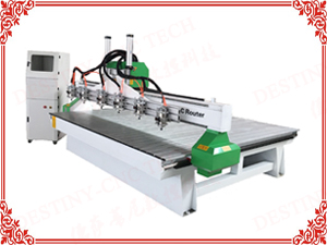 DT-1815/2010 Heavy duty One trailer 6 heads CNC Router