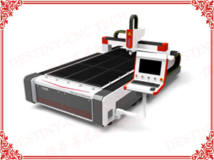 DT-1325/1530 1000w Fiber laser cutting machine for steel sheet cutting