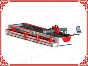 DT-1560 500W/750W/1000W 6m steel tube &double sheets Fiber laser cutting machine